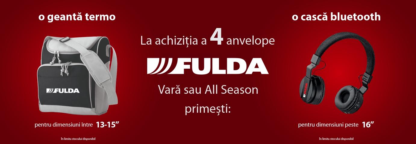Promotie anvelope Fulda
